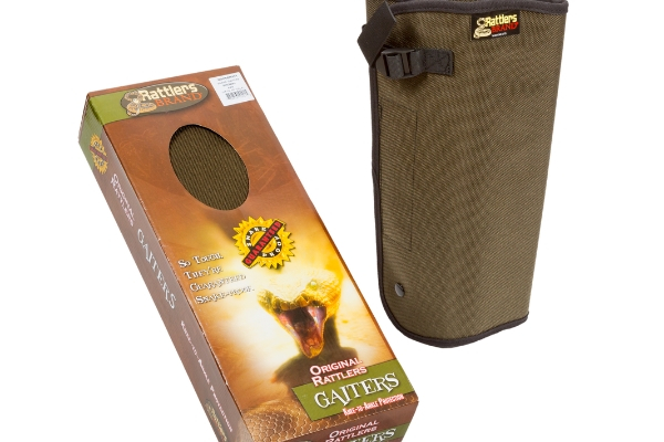 snake proof snake gaiters in brown color