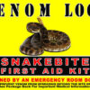 product photo for VENOM LOCC snake bite kit
