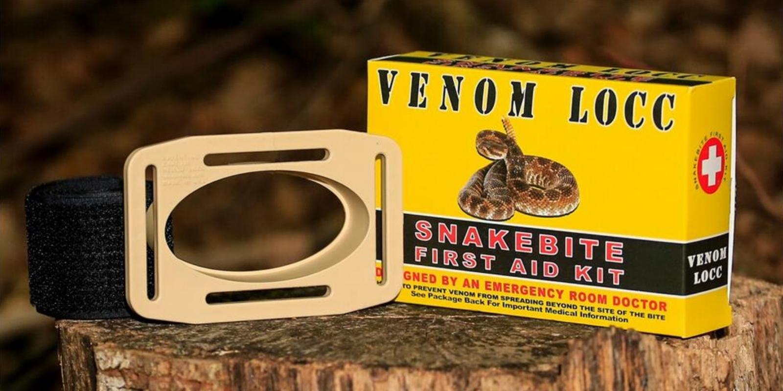 Venom LOCC snake bite kit
